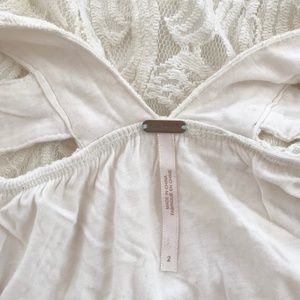 Free People Dresses - Ivory Free People Lace Dress, Size 2